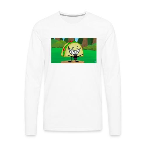 EVIL TACO ha - Men's Premium Long Sleeve T-Shirt