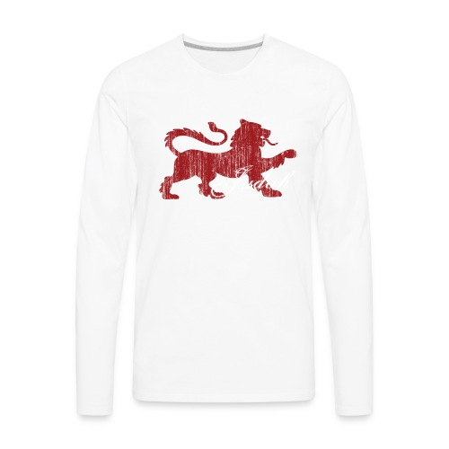 The Lion of Judah - Men's Premium Long Sleeve T-Shirt