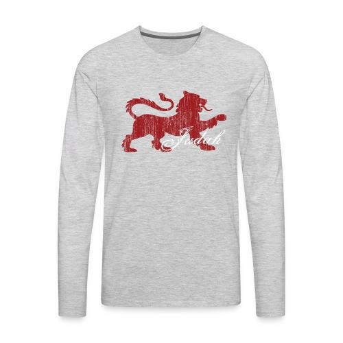 The Lion of Judah - Men's Premium Long Sleeve T-Shirt