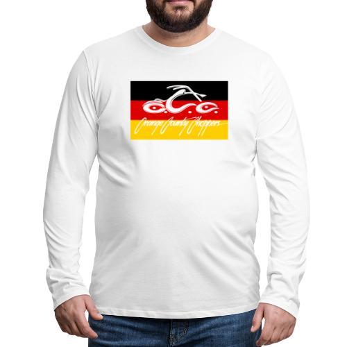OCC German Flag - Men's Premium Long Sleeve T-Shirt