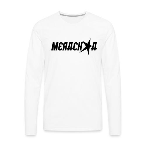 Merachka Logo - Men's Premium Long Sleeve T-Shirt