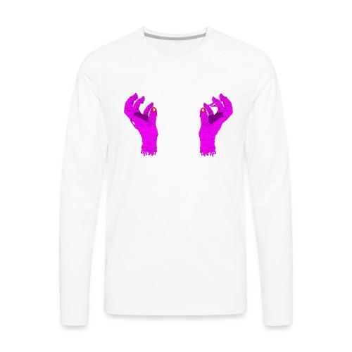 The Hands - Men's Premium Long Sleeve T-Shirt