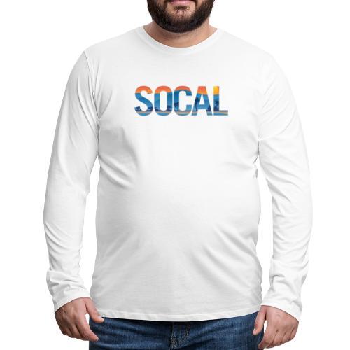 SOCAL Southern California Pride Illustration - Men's Premium Long Sleeve T-Shirt