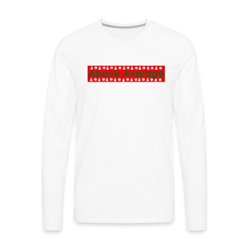Above Average Christmas Edition - Men's Premium Long Sleeve T-Shirt