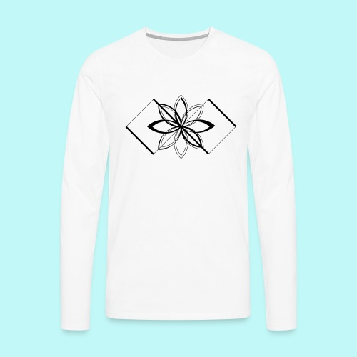 Colour Me DAIZEY Yellow - Men's Premium Long Sleeve T-Shirt