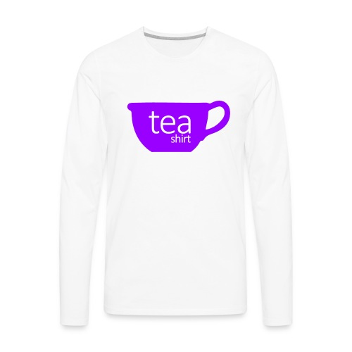 Tea Shirt Simple But Purple - Men's Premium Long Sleeve T-Shirt