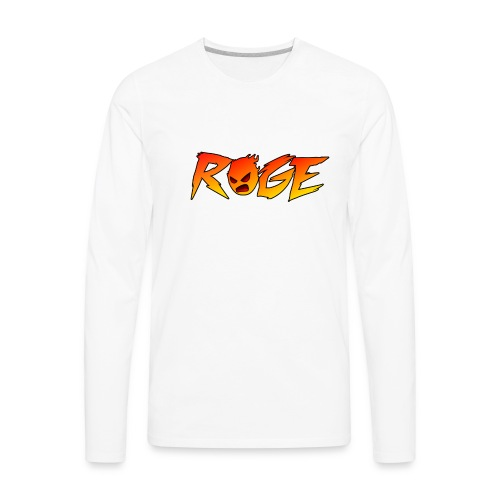 Rage T-shirt - Men's Premium Long Sleeve T-Shirt