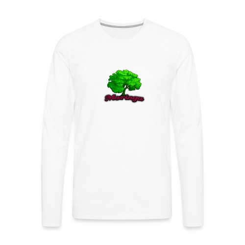 Moringa Logo Samsung S6 Case - Men's Premium Long Sleeve T-Shirt
