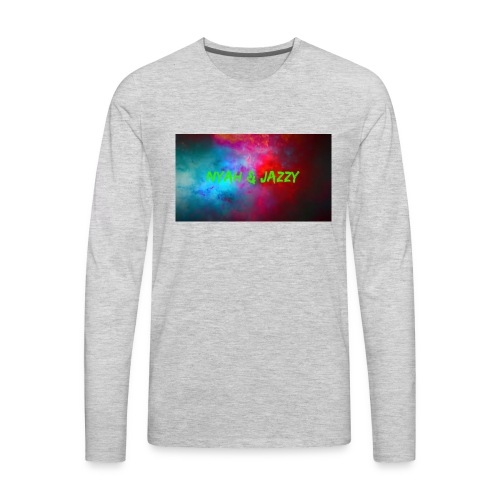 NYAH AND JAZZY - Men's Premium Long Sleeve T-Shirt