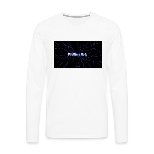backgrounder - Men's Premium Long Sleeve T-Shirt