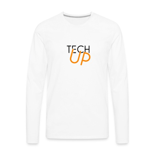 TechUp! - Men's Premium Long Sleeve T-Shirt