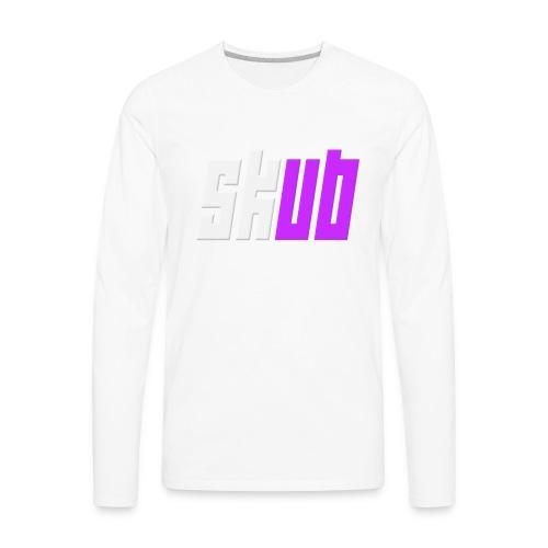 SKUB logo - Men's Premium Long Sleeve T-Shirt