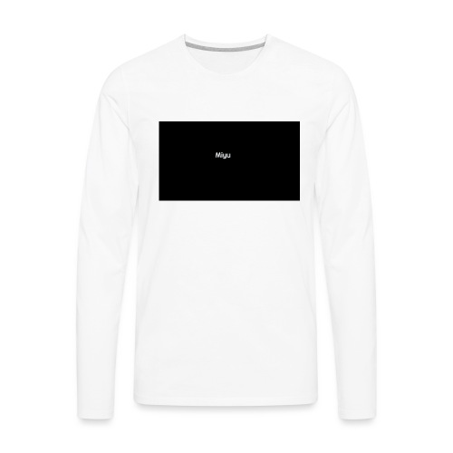 Miyu - Men's Premium Long Sleeve T-Shirt