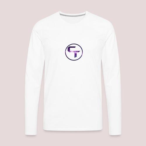 CamTremblay Official Logo - Men's Premium Long Sleeve T-Shirt
