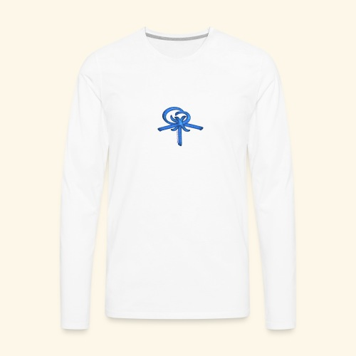 Back LOGO LOB - Men's Premium Long Sleeve T-Shirt