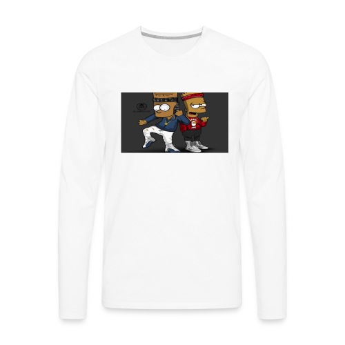 Sweatshirt - Men's Premium Long Sleeve T-Shirt