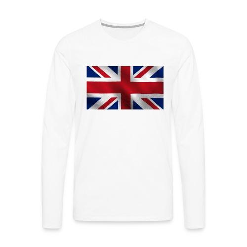 British Flag - Men's Premium Long Sleeve T-Shirt