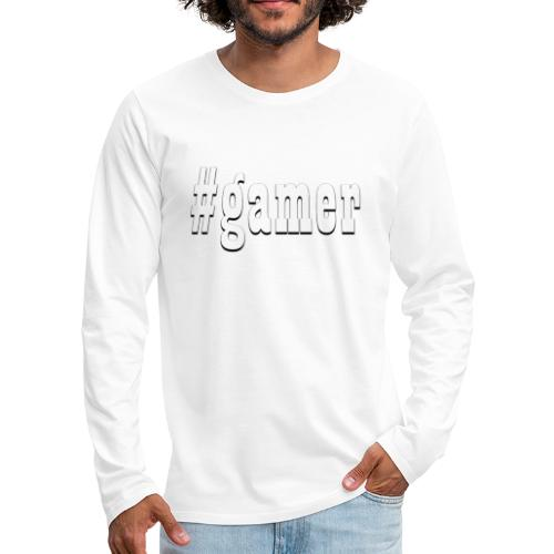 Perfection for any gamer - Men's Premium Long Sleeve T-Shirt