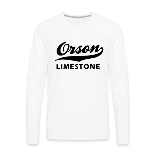 Orson Limestone - Men's Premium Long Sleeve T-Shirt