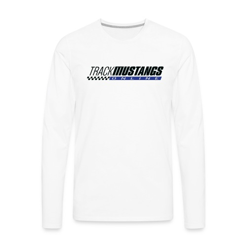TMO Logo Dark Text - Men's Premium Long Sleeve T-Shirt