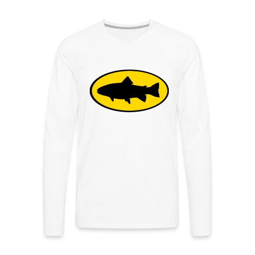 Bad Ass Trout - Men's Premium Long Sleeve T-Shirt