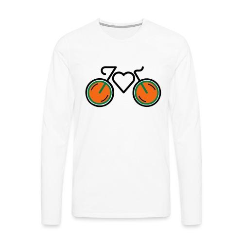 I Love Biking - Men's Premium Long Sleeve T-Shirt