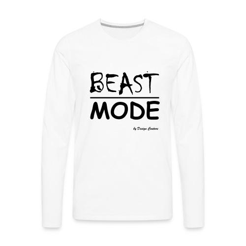 MODE, BEAST-BLACK - Men's Premium Long Sleeve T-Shirt