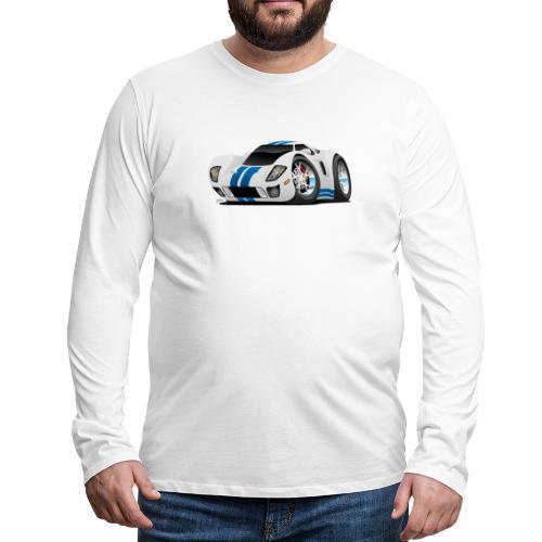 American Supercar Cartoon - Men's Premium Long Sleeve T-Shirt