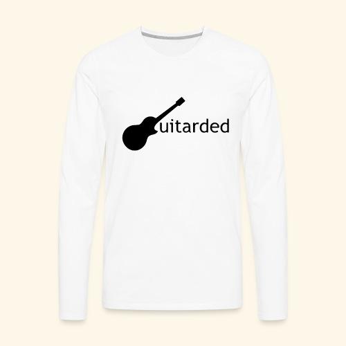 Guitarded - Men's Premium Long Sleeve T-Shirt
