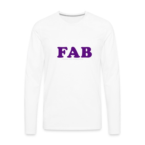 FAB Tank - Men's Premium Long Sleeve T-Shirt