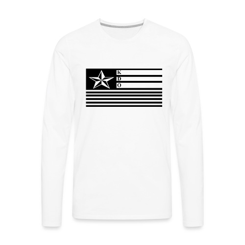 KDO Official Flag T-Shirts - Men's Premium Long Sleeve T-Shirt