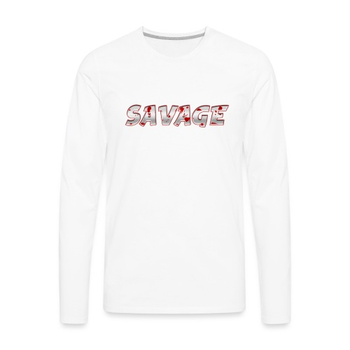Savage Bloody - Men's Premium Long Sleeve T-Shirt
