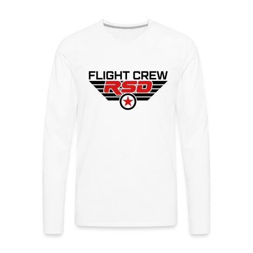 RSD Flight Crew - Men's Premium Long Sleeve T-Shirt