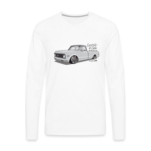 Long & Low C10 - Men's Premium Long Sleeve T-Shirt
