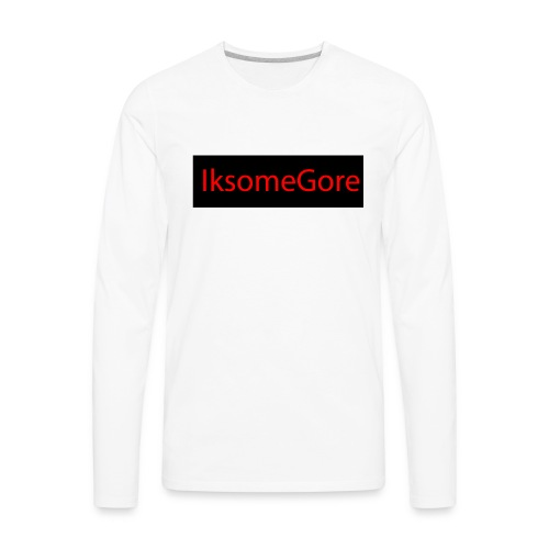 IksomeGore T-shirt 2 - Men's Premium Long Sleeve T-Shirt