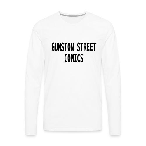 GUNSTON STREET COMICS - Men's Premium Long Sleeve T-Shirt