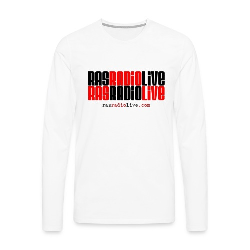 rasradiolive png - Men's Premium Long Sleeve T-Shirt