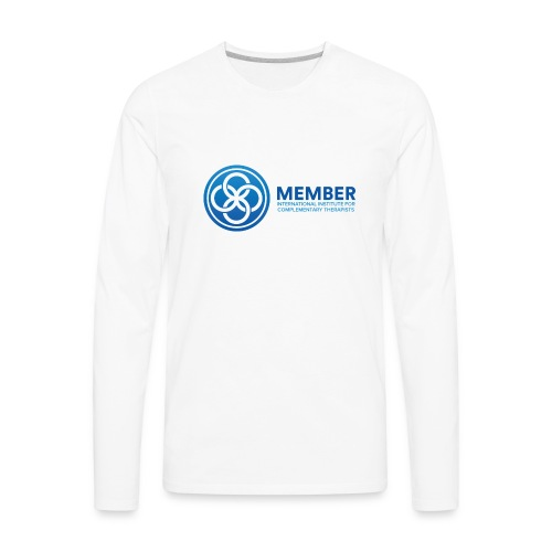 IICT Member Logo - Men's Premium Long Sleeve T-Shirt