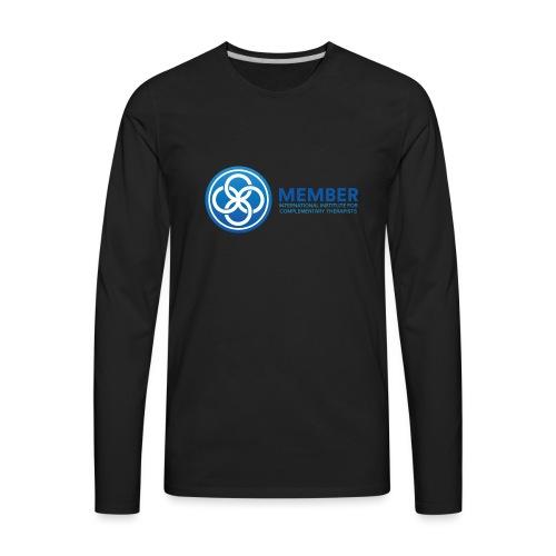 IICT Member Logo - Men's Premium Long Sleeve T-Shirt