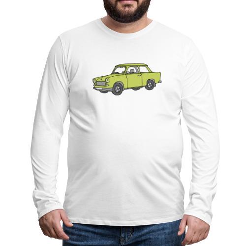 Trabant (baligreen car) - Men's Premium Long Sleeve T-Shirt