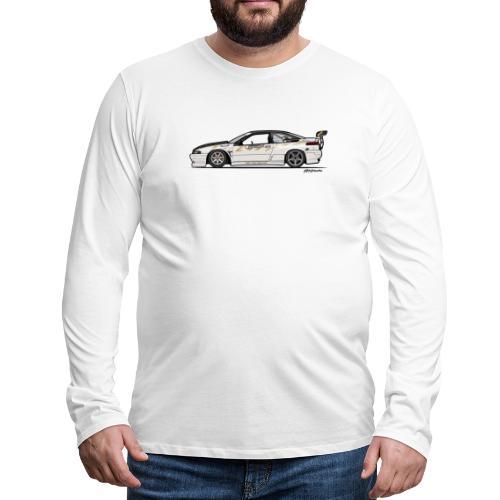 Subaru SVX Van Den Elzen Drift Car - Men's Premium Long Sleeve T-Shirt