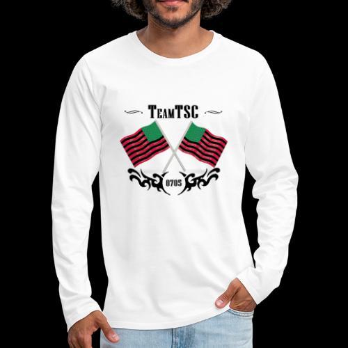 TSC 06 Flags - Men's Premium Long Sleeve T-Shirt