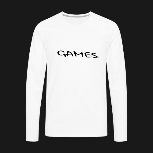 GAMES - Men's Premium Long Sleeve T-Shirt