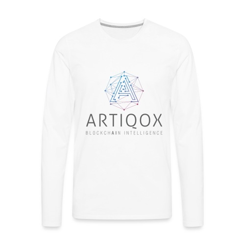 ARTIQOX LOGO - Men's Premium Long Sleeve T-Shirt