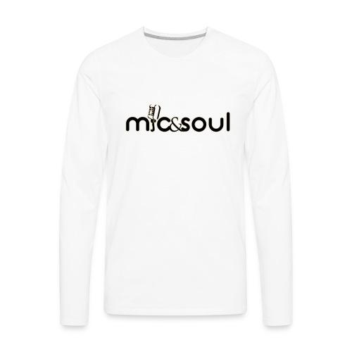 mic and soul - Men's Premium Long Sleeve T-Shirt