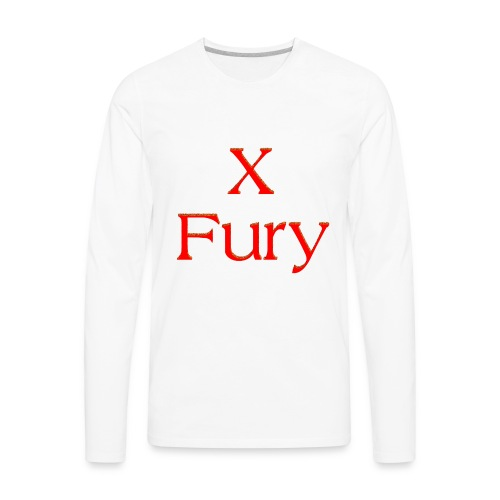 X Fury - Men's Premium Long Sleeve T-Shirt
