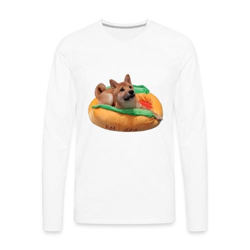 hot doge - Men's Premium Long Sleeve T-Shirt