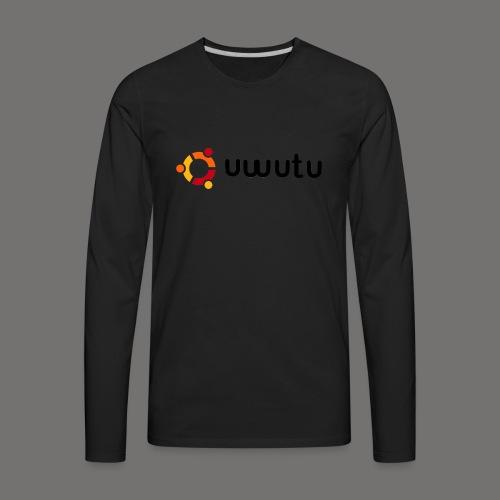 UWUTU - Men's Premium Long Sleeve T-Shirt