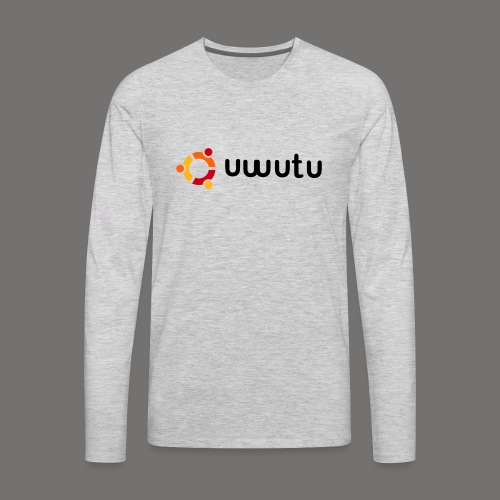 UWUTU - Men's Premium Long Sleeve T-Shirt