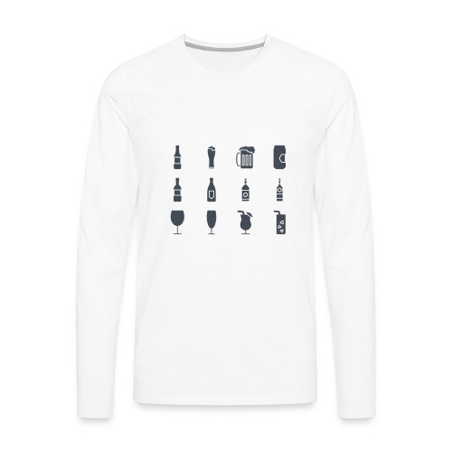 Alcohol - Men's Premium Long Sleeve T-Shirt